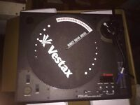 2 x Vestax PDX-D3 2-Speed Quartz Controlled Direct-Drive Turntables