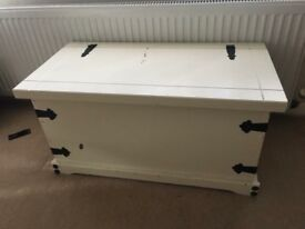 Toy box or wooden chest/box