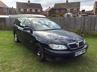 2001 VAUXHALL OMEGA 2.2 PETROL £200 CALL ME ONLY