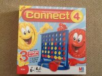 CONNECT 4 board game by MB, brand new in cellophane