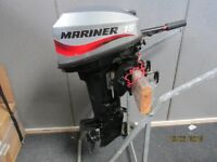 Mercury Mariner 15hp outboard motor boat engine 2006 for inflatable rib dinghy tender