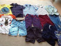 Boys boden, crew, gap and okaidi clothes age range 6-8/9