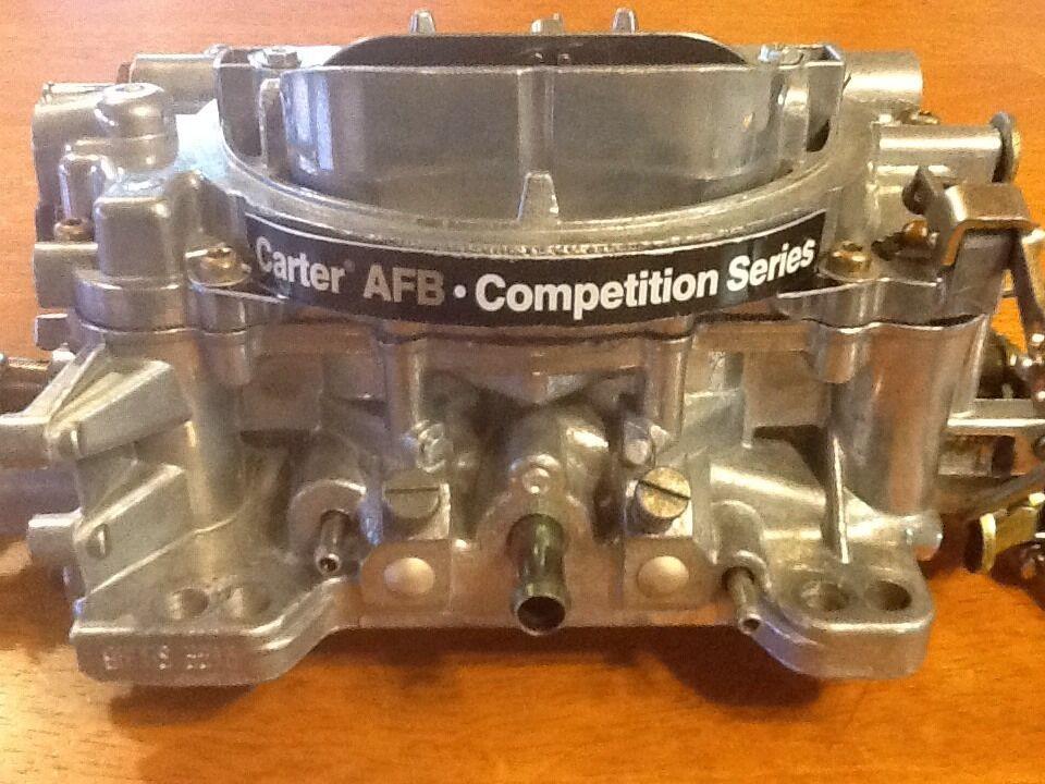 Carter AFB  petition Series 9605 S 4 Barrel 600 Carburetor Edelbrock Weber AVS