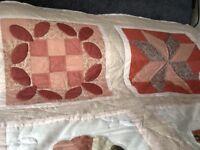 Authentic patchwork quilt
