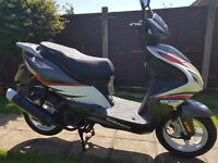 2015 Sinnis Harrier 125cc Learner Legal Scooter