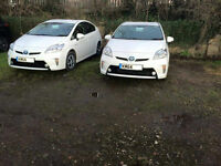 PCO TOYOTA PRIUS TO RENT OR HIRE UBER READY 65 plates