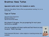 Maths Tuition in Braintree