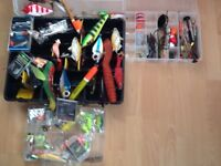 Pike. Lures