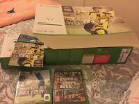 Xbox one s 500gb with 2 joypads