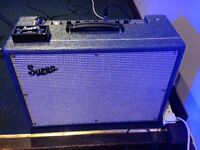Supro tremolo and reverb footswitch sf2