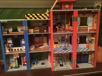 ELC wooden fire station