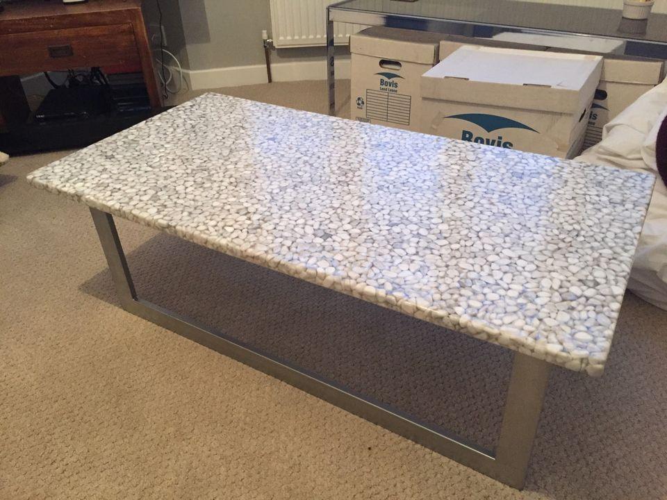 habitat pebble coffee table | in shepherds bush, london | gumtree