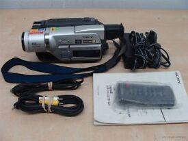 HIRE - Sony Digital8 DCR-TRV320E *8mm Hi8 playback*