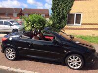 Peugeot 206cc 11 months MOT