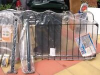 Fence and gate still in wrapper