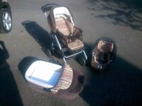 **REDUCED** Mamas & Papas travel system pushchair/pram