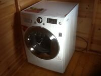 LG washer dryer in excellent working condition. Less than 2 years old. 8kg wash load/6kg dry load.