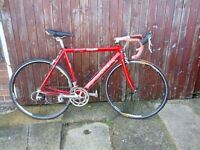 Red Carrera Road Bike