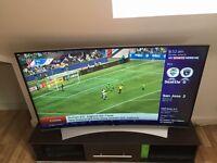 "LG 55"" smart ultra HD curved TV"