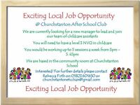 Exciting Local Job Opportunity