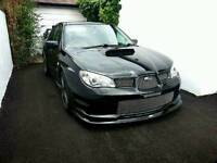 Subaru Impreza Sti Widetrack Black 2006