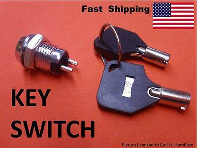 Key Switch --- On Off --- Custom Universal Electrical Components Multi Purpose