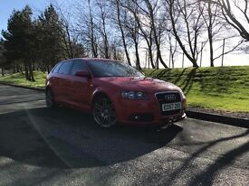 *** REDUCED *** 2007 57 AUDI A3 1.8 TFSI 5 DOOR SPORTBACK S LINE DSG FULLY LOADED