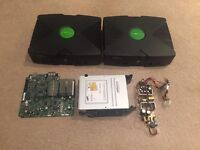 3x Original Xbox consoles For Spares Or Repairs (Faulty)