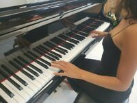 BRAND NEW BLACK BABY GRAND PIANO (WITH SELF PLAYING SYSTEM)