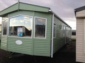AFFORDABLE STATIC CARAVAN FOR SALE INCLUDING 2017 SITE FEES D/G & C/H AND A CHOICE OF 15 PARKS