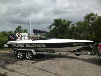 21ft Haines Hunter Ski Boat Parramatta Park Cairns City Preview