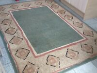 Polypropylene rug 160cm x220cm- vacuumed and very clean-I have 2available at £30 and £40each