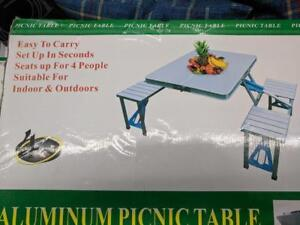 4 Seat Picnic Table -BRAND NEW ($54)