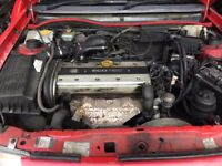 Vauxhall Astra Mk3 / Vectra B 2.0 16v X20XEV Complete engine 20828 Miles