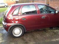 Vauxhall corsa 1.3 d