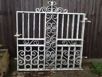 Pair/set of cast iron gates. Perfect for driveway