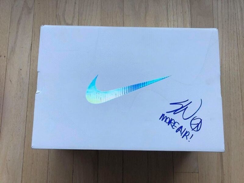 check out 9f0f4 0256c 2018 Nike Air Max SW Sean Wotherspoon Signed Shoe Box Nike VaporMax