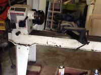 AMINSTER VARIABLE SPEED WOOD LATHE WITH EVERY CONCEIVABLE ATTATCHEMENT