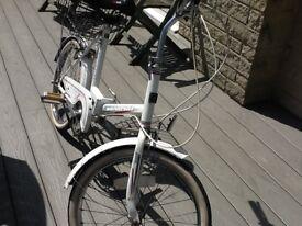 Universal foldaway bike