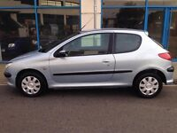 2003 PLATE PEUGEOT 1.2LITRE PETROL WITH LONG MOT, CHEAP RUN ABOUT,