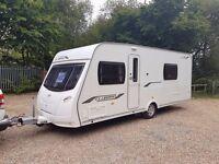 2011 Lunar Clubman SE 4 Berth caravan FIXED BED, MOTOR MOVER, Bargain !!!