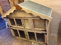 rabbit hutch/run brand new joiner made