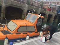 17ft Wilson flyer fishing boat