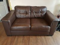 Quality Sofa and 4 Chairs - Leather, very comfy