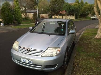 2006 Toyota Corolla Rowville Knox Area Preview