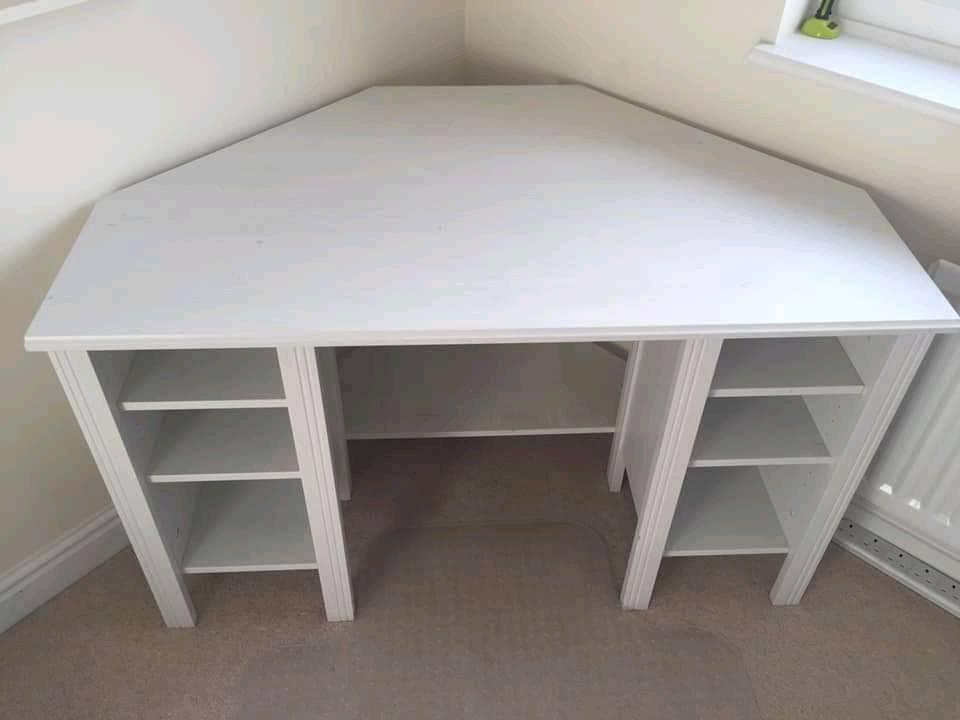 Ikea brusali corner desk in gloucester gloucestershire gumtree