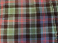 Tartan for sale and can be made into kilt. length 22 and 1/2 or smaller MADE BY BRAW KILTS