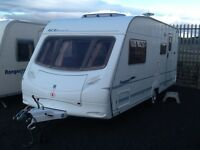 2005 ace award morningstar 4 berth end changing room with awning