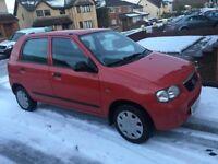 Suzuki Alto GL 1.0L 5Dr , MOT for 1 Year, Full Service History, £30/Year Road Tax,Low Miles, 2 Keys,