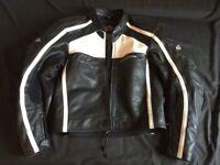 Leather Motorbike jacket Mein Gericke size 56/XL